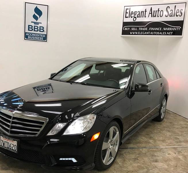 2011 Mercedes-Benz E-Class E 350 Sport 4dr Sedan - Rancho Cordova CA