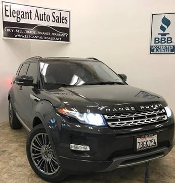 2013 Land Rover Range Rover Evoque for sale in Rancho Cordova, CA