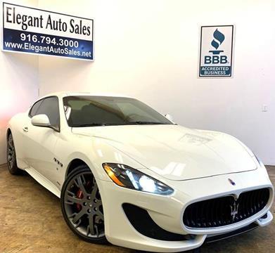 2013 Maserati GranTurismo for sale in Rancho Cordova, CA