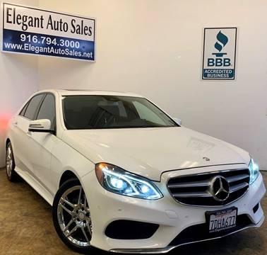 2014 Mercedes-Benz E-Class for sale in Rancho Cordova, CA