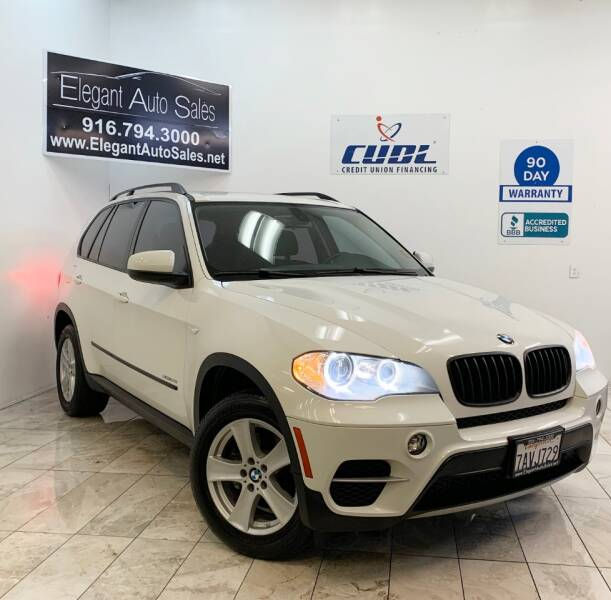 2013 BMW X5 for sale at Elegant Auto Sales in Rancho Cordova CA