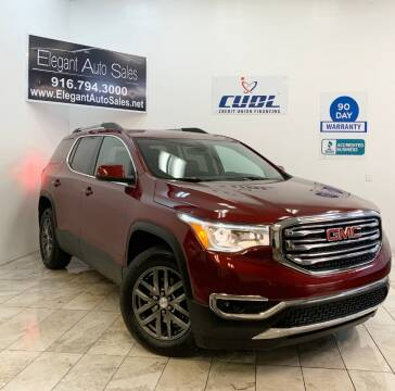 2018 GMC Acadia for sale at Elegant Auto Sales in Rancho Cordova CA