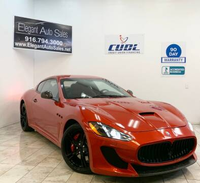 2014 Maserati GranTurismo for sale at Elegant Auto Sales in Rancho Cordova CA
