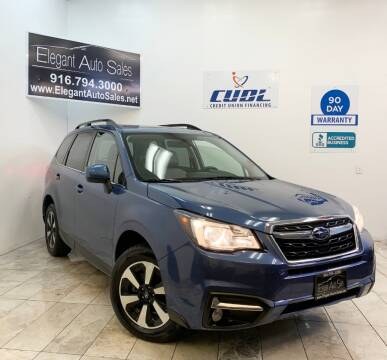 2017 Subaru Forester for sale at Elegant Auto Sales in Rancho Cordova CA