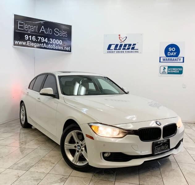 2014 BMW 3 Series for sale at Elegant Auto Sales in Rancho Cordova CA