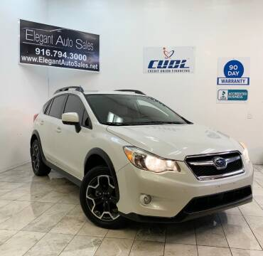 2014 Subaru XV Crosstrek for sale at Elegant Auto Sales in Rancho Cordova CA