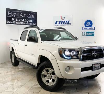 2011 Toyota Tacoma for sale at Elegant Auto Sales in Rancho Cordova CA