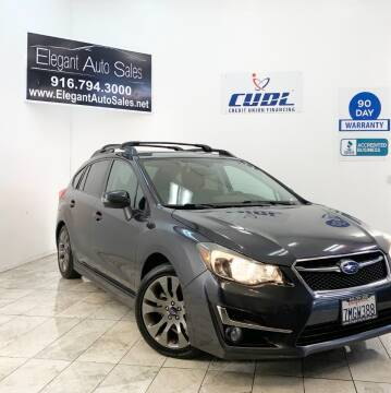 2015 Subaru Impreza for sale at Elegant Auto Sales in Rancho Cordova CA