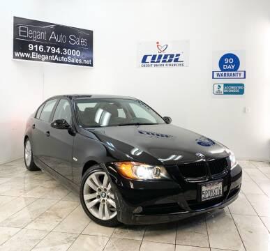 2006 BMW 3 Series for sale at Elegant Auto Sales in Rancho Cordova CA