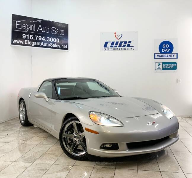 2007 Chevrolet Corvette for sale at Elegant Auto Sales in Rancho Cordova CA