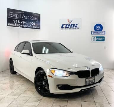 2012 BMW 3 Series for sale at Elegant Auto Sales in Rancho Cordova CA