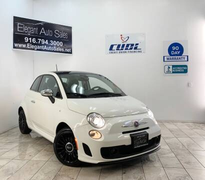 2018 FIAT 500 for sale at Elegant Auto Sales in Rancho Cordova CA