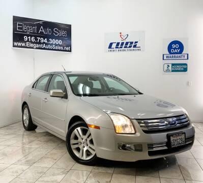 2008 Ford Fusion for sale at Elegant Auto Sales in Rancho Cordova CA