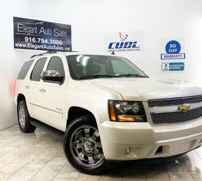 2012 Chevrolet Tahoe for sale at Elegant Auto Sales in Rancho Cordova CA