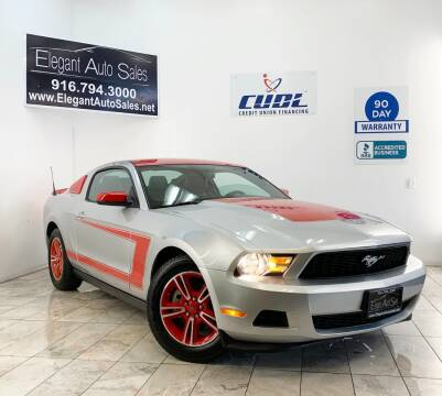 2012 Ford Mustang for sale at Elegant Auto Sales in Rancho Cordova CA