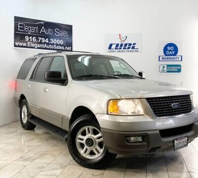 2003 Ford Expedition for sale at Elegant Auto Sales in Rancho Cordova CA