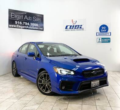 2018 Subaru WRX for sale at Elegant Auto Sales in Rancho Cordova CA