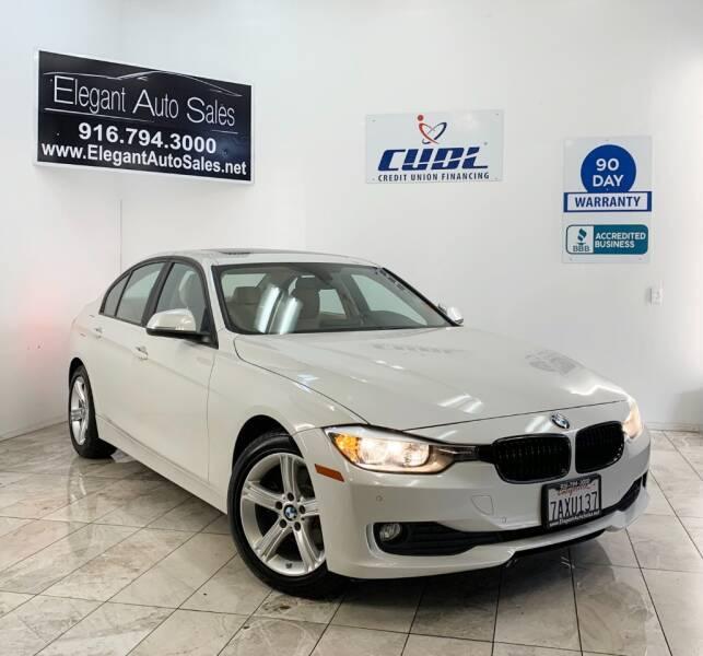 2013 BMW 3 Series for sale at Elegant Auto Sales in Rancho Cordova CA