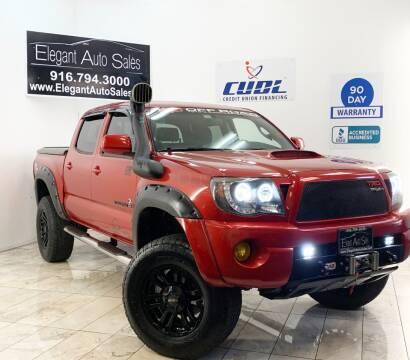 2010 Toyota Tacoma for sale at Elegant Auto Sales in Rancho Cordova CA