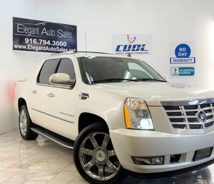 2007 Cadillac Escalade EXT for sale at Elegant Auto Sales in Rancho Cordova CA