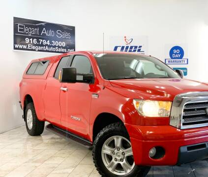 2007 Toyota Tundra for sale at Elegant Auto Sales in Rancho Cordova CA