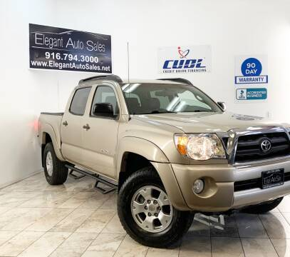 2006 Toyota Tacoma for sale at Elegant Auto Sales in Rancho Cordova CA