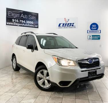 2015 Subaru Forester for sale at Elegant Auto Sales in Rancho Cordova CA