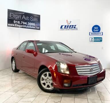 2007 Cadillac CTS for sale at Elegant Auto Sales in Rancho Cordova CA