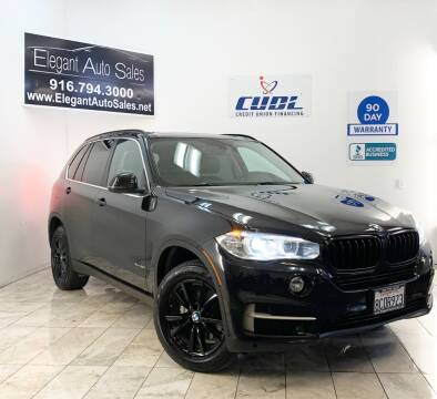 2015 BMW X5 for sale at Elegant Auto Sales in Rancho Cordova CA