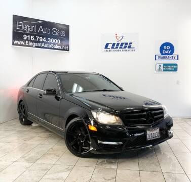 2014 Mercedes-Benz C-Class for sale at Elegant Auto Sales in Rancho Cordova CA