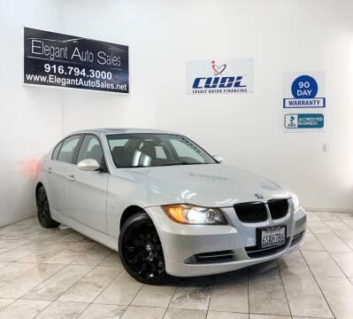 2007 BMW 3 Series for sale at Elegant Auto Sales in Rancho Cordova CA