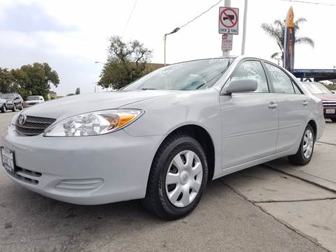 2003 Toyota Camry for sale at Olympic Motors in Los Angeles CA