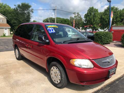 2002 Chrysler Town and Country for sale at TNT Motor Sales in Oregon IL