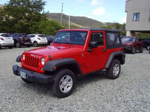2015 Jeep Wrangler for sale in St Thomas, VI