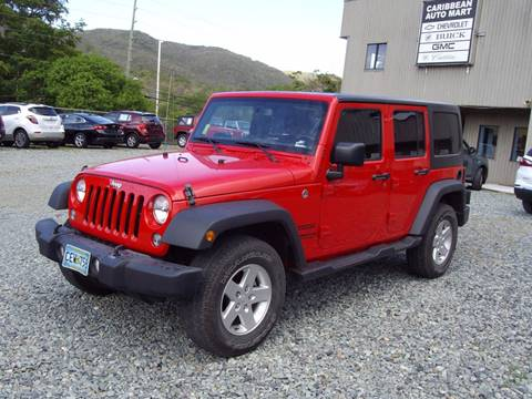 2016 Jeep Wrangler Unlimited for sale in St Thomas, VI