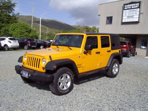 2013 Jeep Wrangler Unlimited for sale in St Thomas, VI