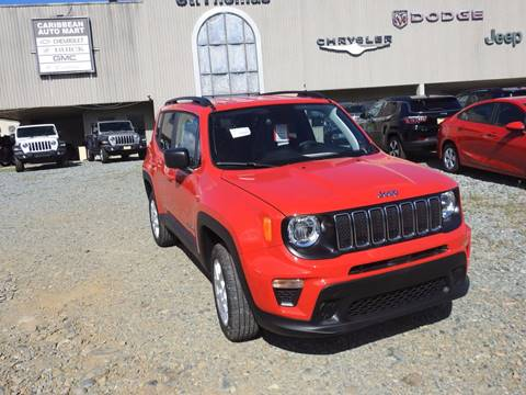 2019 Jeep Renegade Sport for sale at Caribbean Auto Mart in St Thomas VI