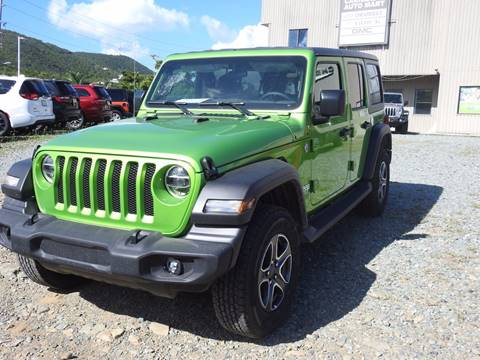 2020 Jeep Wrangler Unlimited Sport S for sale at Caribbean Auto Mart in St Thomas VI