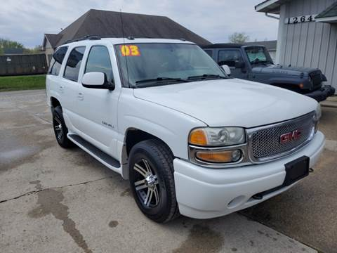 2003 GMC Yukon for sale in Cedar Lake, IN