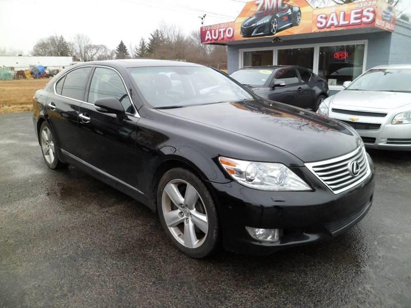 2010 lexus ls 460 awd 4dr sedan in cedar lake in zmc auto sales. Black Bedroom Furniture Sets. Home Design Ideas
