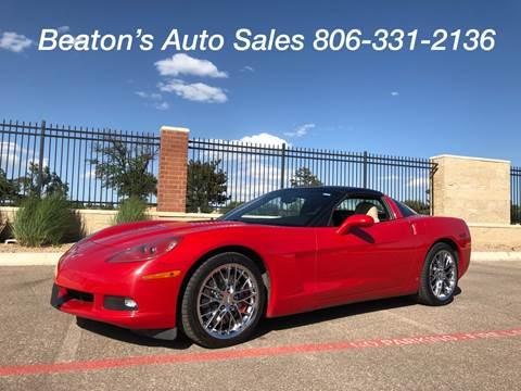 2007 Chevrolet Corvette for sale in Amarillo, TX