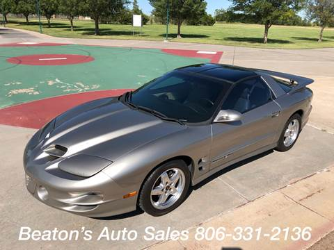 2002 Pontiac Firebird for sale in Amarillo, TX