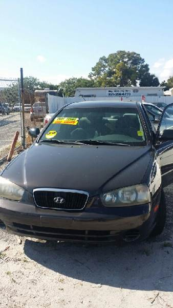 2002 Hyundai Elantra For Sale At Franz Brett Used Cars In Melbourne FL