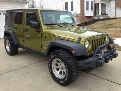 2007 Jeep Wrangler Unlimited for sale at DLUX Motorsports in Fredericksburg VA