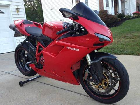 2008 Ducati 1098 for sale at DLUX Motorsports in Fredericksburg VA