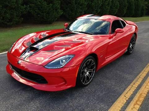 2013 Dodge SRT Viper for sale at DLUX Motorsports in Fredericksburg VA