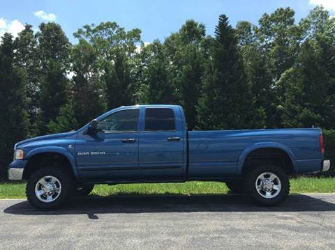 2004 Dodge Ram Pickup 3500 for sale at DLUX Motorsports in Fredericksburg VA