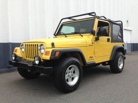 2006 Jeep Wrangler for sale at DLUX Motorsports in Fredericksburg VA