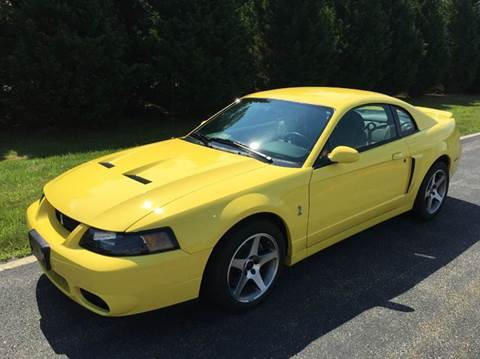 2003 Ford Mustang SVT Cobra for sale at DLUX Motorsports in Fredericksburg VA