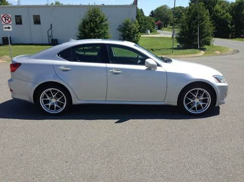 2008 Lexus IS 250 for sale at DLUX Motorsports in Fredericksburg VA